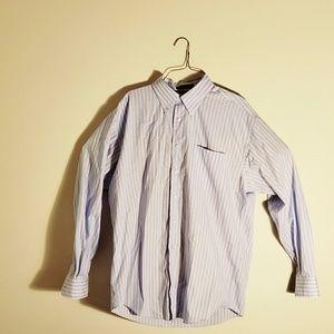 Nautica Button Down Mens Long Sleeve Shirt